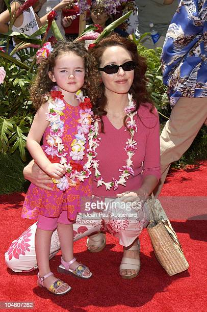Amy Yasbeck daughter during 'Lilo and Stitch' Premiere at El Capitan Theater in Hollywood California United States