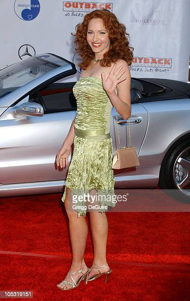 Amy Yasbeck during 6th Annual MercedesBenz DesignCure at Home of Sugar Ray and Bernadette Leonard in Pacific Palisades California United States