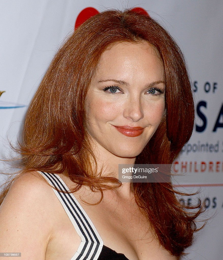 <a gi-track='captionPersonalityLinkClicked' href=/galleries/search?phrase=Amy+Yasbeck&family=editorial&specificpeople=211474 ng-click='$event.stopPropagation()'>Amy Yasbeck</a> during 'Annie' Opening Night to Benefit CASA of Los Angeles - Arrivals at Pantages Theatre in Hollywood, California, United States.