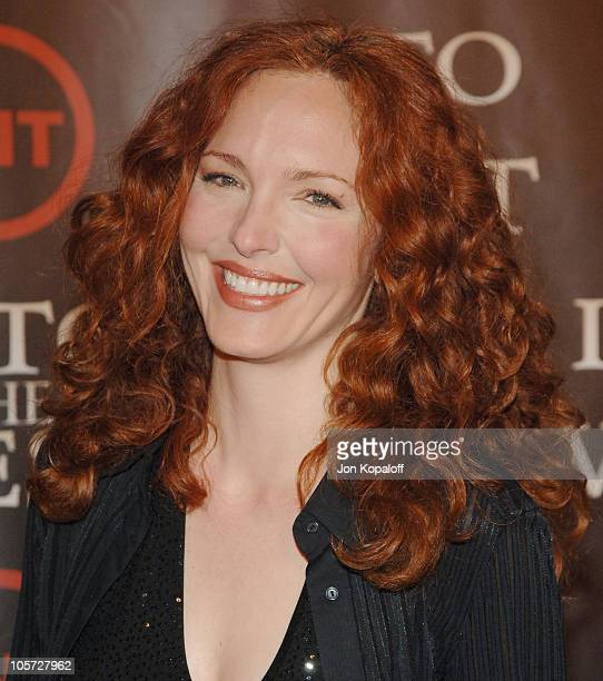 Amy Yasbeck during 'Into the West' TNT Network Los Angeles Premiere Arrivals at Directors Guild of America in Hollywood California United States