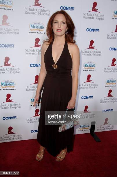 Amy Yasbeck during 'Runway For Life' Benefiting St Jude Children's Research Hospital Sponsored by Disney's 'The Little Mermaid' DVD and The Conair...