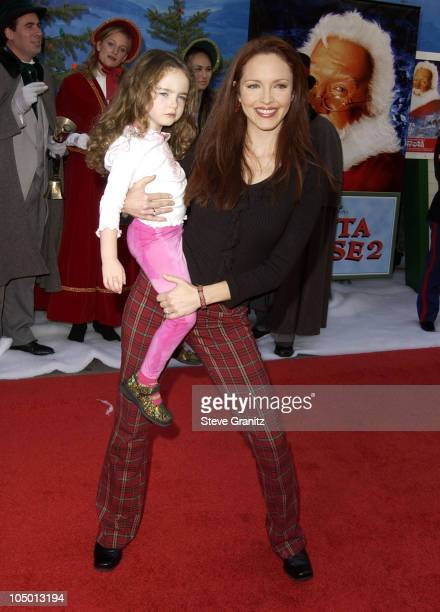 Amy Yasbeck during 'The Santa Clause 2' Premiere at El Capitan Theatre in Hollywood California United States
