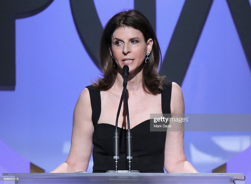 <a gi-track='captionPersonalityLinkClicked' href=/galleries/search?phrase=Amy+Ziering&family=editorial&specificpeople=5773653 ng-click='$event.stopPropagation()'>Amy Ziering</a> accepts the Stanley Kramer Award (The Hunting Ground) onstage at the 27th Annual Producers Guild Awards at the Hyatt Regency Century Plaza on January 23, 2016 in Century City, California.