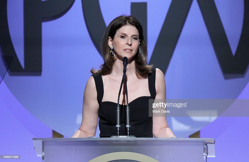 Amy Ziering accepts the Stanley Kramer Award onstage at the 27th Annual Producers Guild Awards at the Hyatt Regency Century Plaza on January 23 2016...