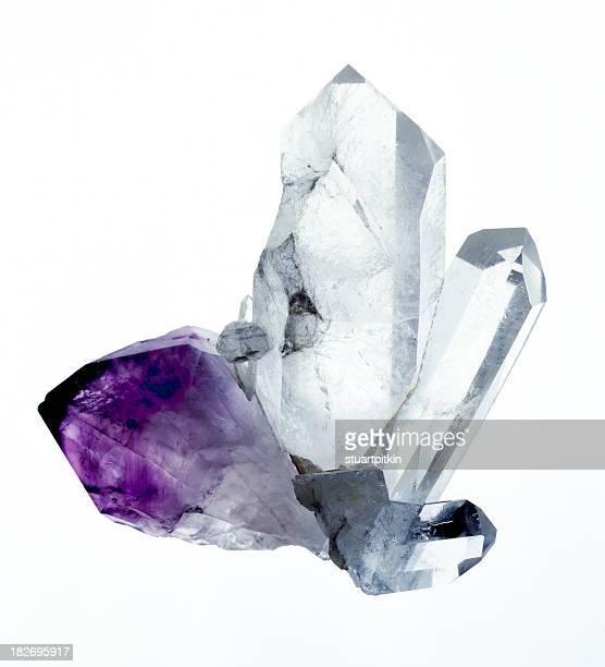 Amythyst & Quarzkristallen
