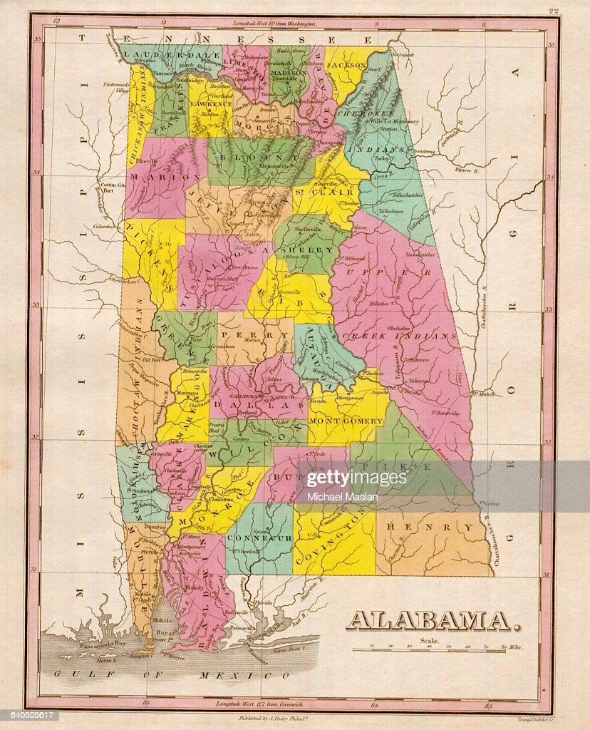 22 Wonderful Alabama Indian Territory Map Afputra Com