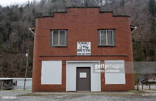 An abandoned coal miner's union hall in the Coal River Valley The valley used to be the heart of the UMWA in West Virginia