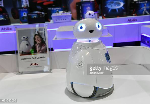 An Abilix USD 499 Oculus 5 vacuum cleaner is displayed at CES 2017 at the Sands Expo and Convention Center on January 5 2017 in Las Vegas Nevada CES...