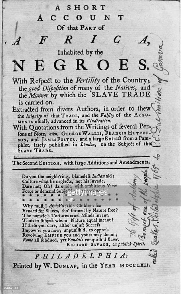 An abolitionist pamphlet published in Boston.