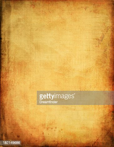 An abstract of a vintage piece of paper