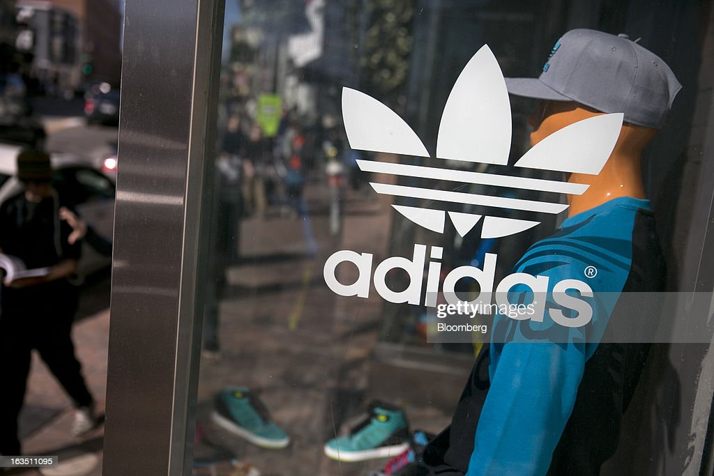 An Adidas AG retail store stands in the Georgetown neighborhood of Washington, D.C., U.S., on Saturday, March 9, 2013. The U.S. Census Bureau is expected to release advance retail sales data for February on March 13. Photographer: Andrew Harrer/Bloomberg via Getty Images