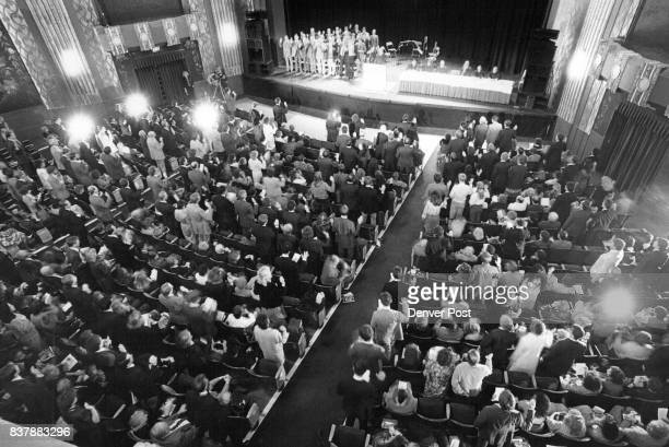 An Admission ceremony honoring New Colorado Attorneys was held in the Paramount Theatre Friday when 480 persons were sworn in to the Colorado Bar...