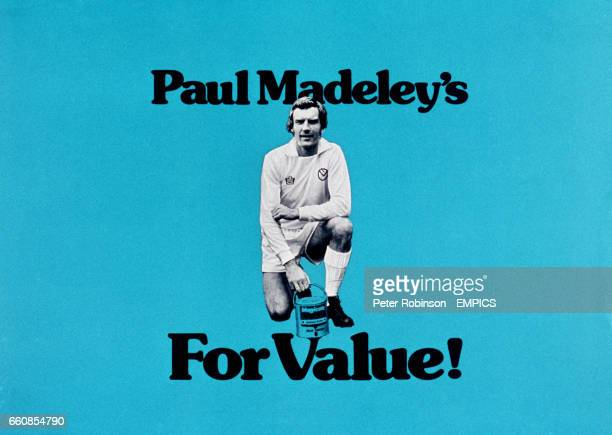 An advertisement for Paul Madeley's Colour Centre the DIY chain he runs with his brothers sisterinlaw and father