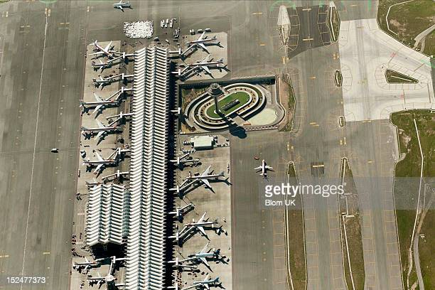 An aerial image of Aeropuerto T4 De Barajas Madrid