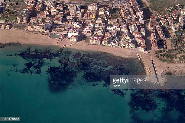 An aerial image of Beaches At La Mata Torrevieja