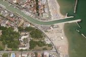 An aerial image of Bellaria Igena Marina Rimini