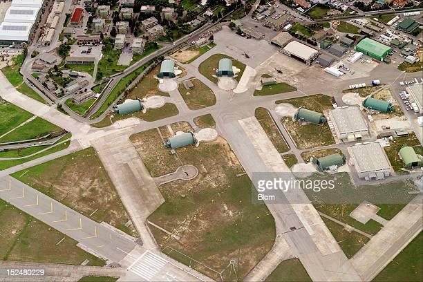 An aerial image of Brindisi International Airport Brindisi