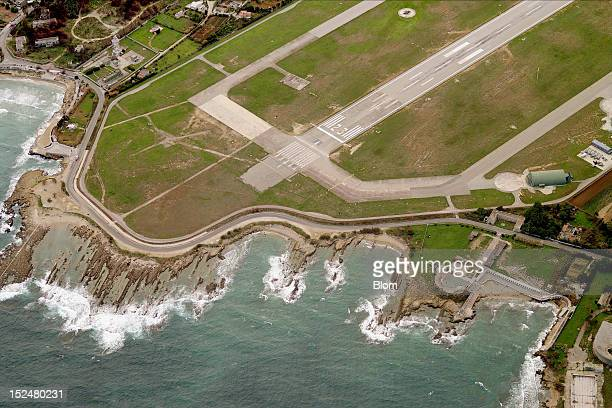 An aerial image of Brindisi International Airport Brindisi