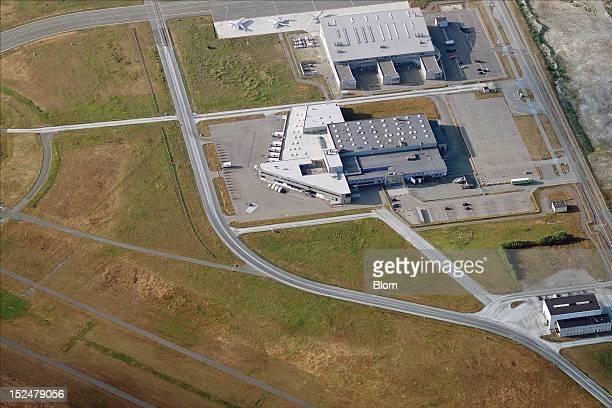 An aerial image of Copenhagen Airport Kastrup Copenhagen