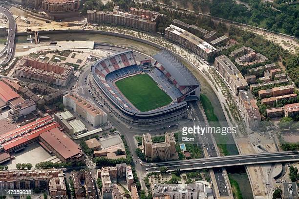 An Aerial image of Estadio Vicente Calderón Madrid