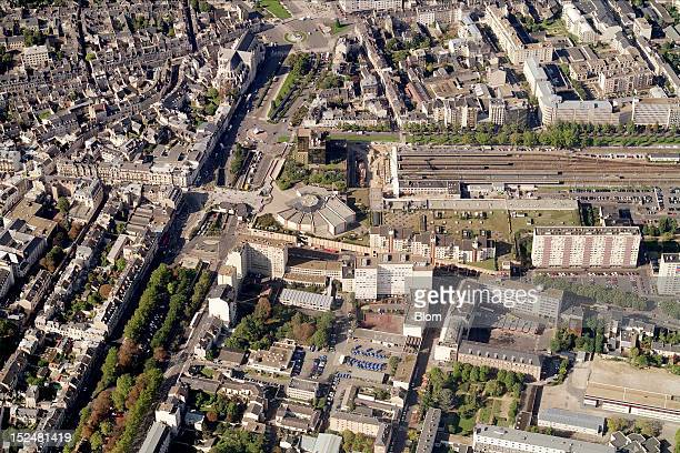An aerial image of Gare d´Orleans Orleans