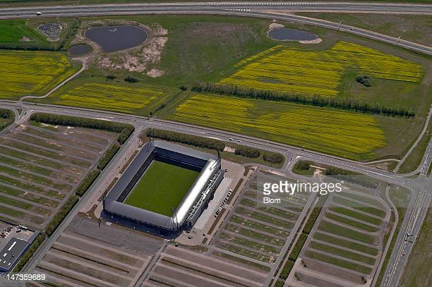An Aerial image of MCH Arena Herning