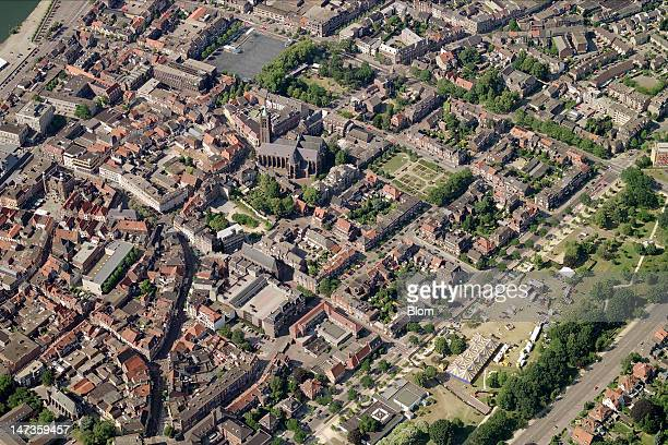 An aerial image of Old Town Venlo