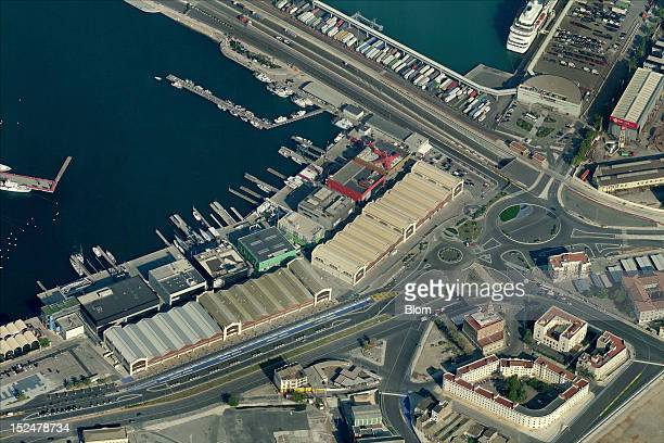 An aerial image of Port Of Valencia Valencia