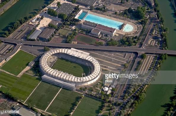 An Aerial image of Stadium Municipal de Toulouse Toulouse