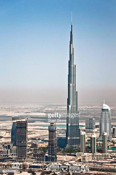 CONTENT] An aerial shot of the tallest building in the world