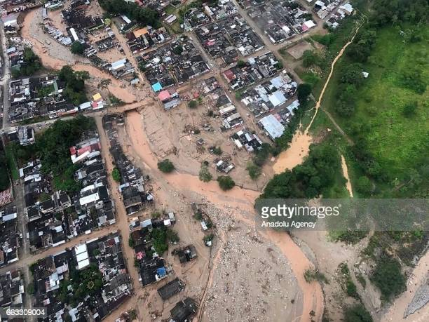 EDITORIAL USE ONLY MANDATORY CREDIT 'COLOMBIAN ARMY / HANDOUT' NO MARKETING NO ADVERTISING CAMPAIGNS DISTRIBUTED AS A SERVICE TO CLIENTS An aerial...