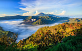 Mount Bromo volcano, East Java, Surabuya, Indonesia