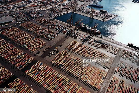 An aerial view of the container terminal in Piraeus taken in October 2009 Greece has told Chinese shipping giant Cosco that strikes which frequently...