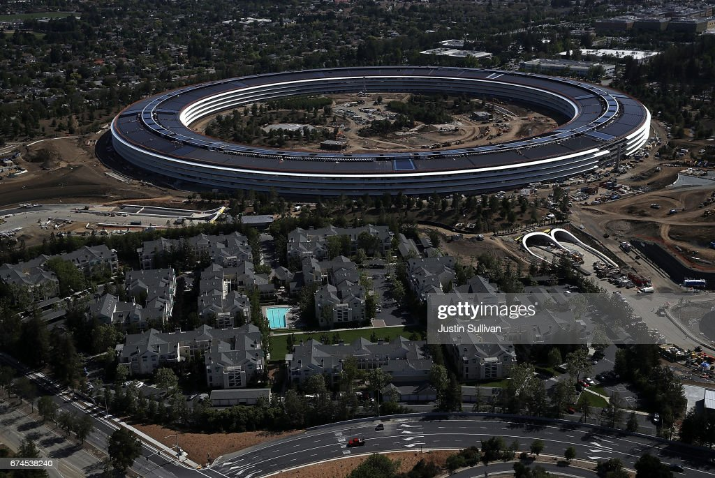 Apple's New HQ Nears Completion