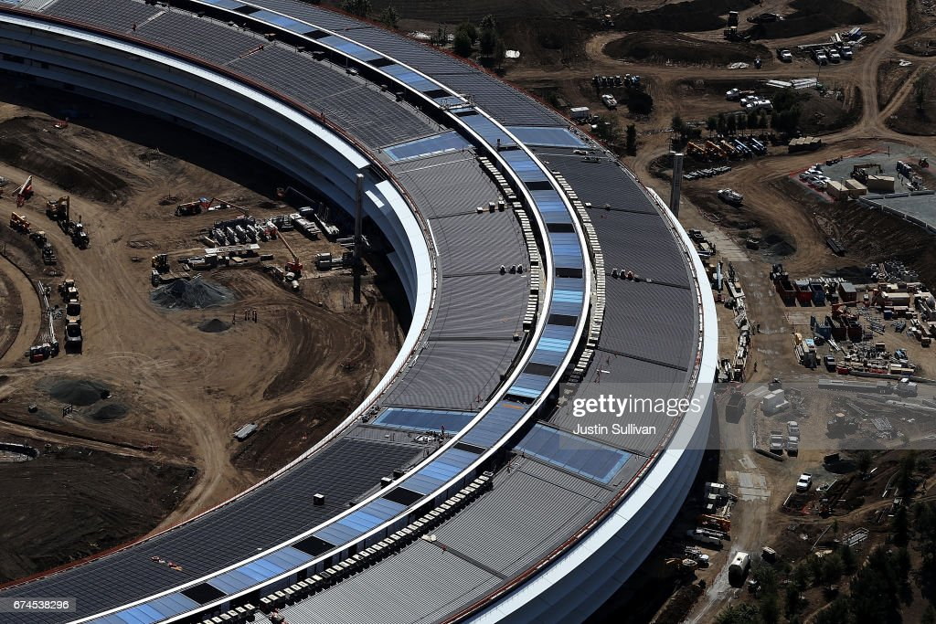Apples New Headquarters Near Completion Photos and Images Getty