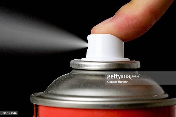 An aerosol can