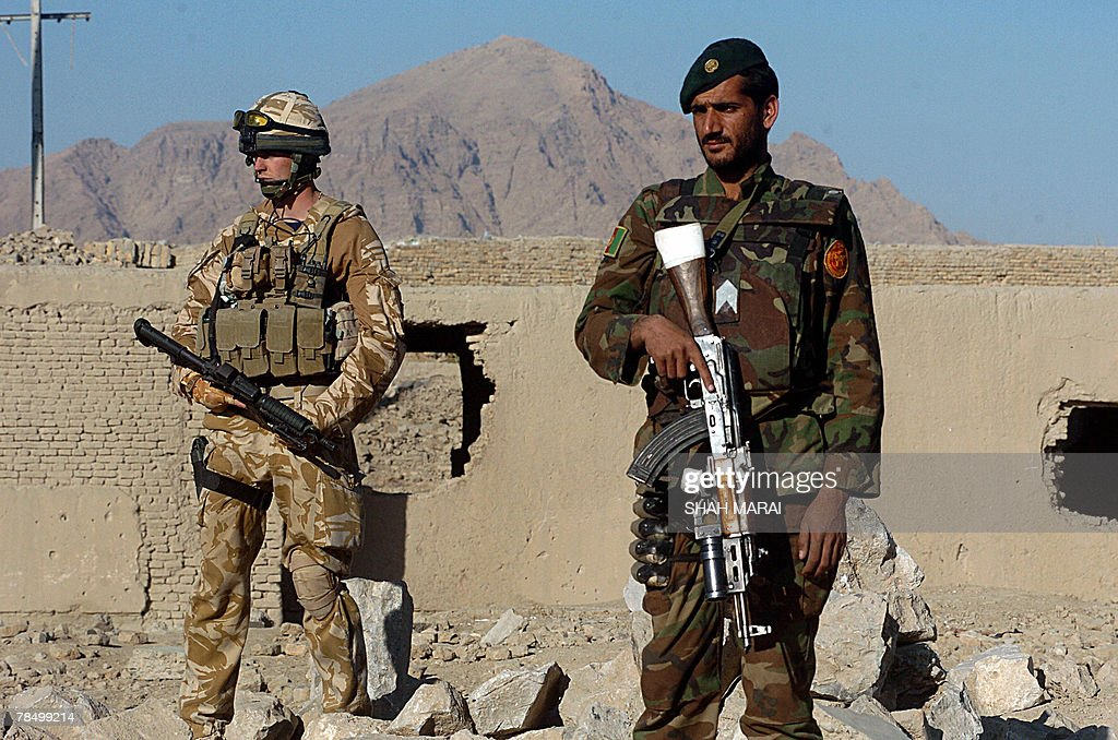 Image result for Afghanistan ANA and british soldiers helmand