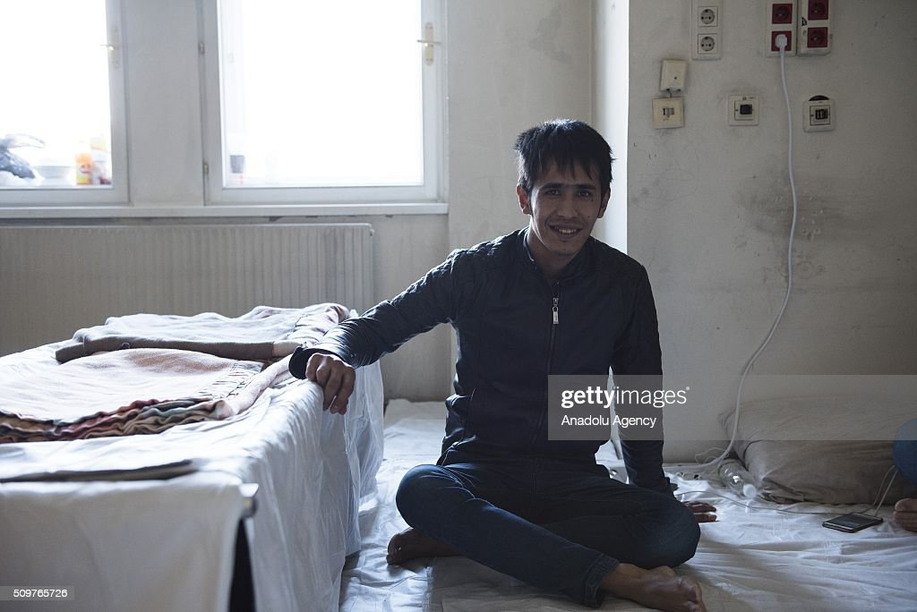 An Afghan refugee, who was a Computer Science student at a university in Afghanistan, is seen as he waits to be granted an asylum status at the Red Cross shelter, in Vienna, Austria on February 11, 2016. The refugee shelter is located right in the Vienna city centre, inside the building belonging to the University of Applied Arts. The premises were rented by the university to the Austrian Red Cross in 2015. According to this agreement, the shelter started operating in October 2015 and it will be open until May 2016. The Red Cross shelter has a capacity to host 1400 persons and 775 refugees live there. Around 90% of the refugees living in the shelter come from Iraq, Syria or Afghanistan. Over the last seven months, around 90,000 asylum seekers have applied for refuge in Austria, and at least 50,000 of these are expected to be deported. Military aircraft have been requisitioned for this purpose. The government also wants to cut social support to these asylum seekers.