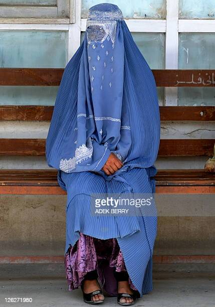 An Afghan woman waits her turn for a medical consultation at the Isteqlal hospital in Kabul on September 19 2011 The Afghan Ministry of Public Health...