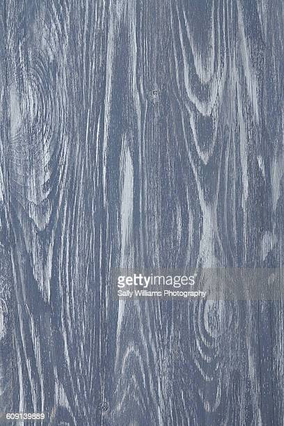 An aged grey blue wooden tabletop
