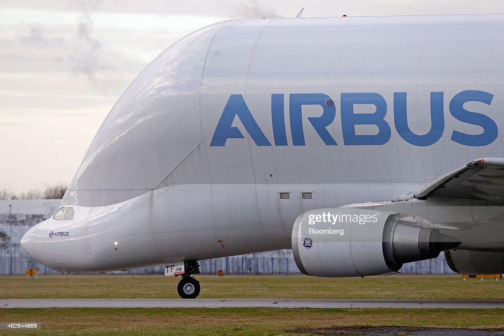 Airbus A320 And A350 Wing Manufacturing At Airbus Group NV's ...
