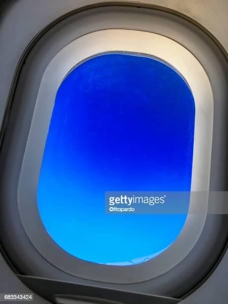 POV of an Airplane window