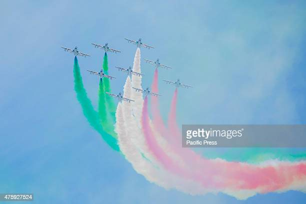IMPERIALI ROME ROMA ITALY An airshow during the 'Festa della Repubblica' or the Italian National Day which is celebrated on the 2nd day of June each...