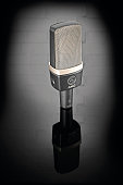 An AKG C314 condenser microphone taken on July 29 2015
