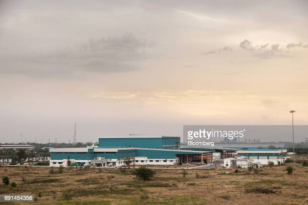 An Akzo Nobel India Ltd paint factory stands in Gwalior Madhya Pradesh India on Thursday June 1 2017 Akzo Nobel NV rejected PPG Industries Inc's...