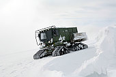 February 16, 2011 09/14/2009 Transmission systems radio Airmen with the 92nd Communications Squadron get stuck in their enclosed all09/14/2009terrain vehicle on their way up to a radio tower on the Ca