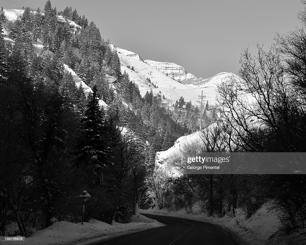 An alternate view of atmosphere during the 2013 Sundance Film Festival on January 19, 2013 in Park City, Utah.