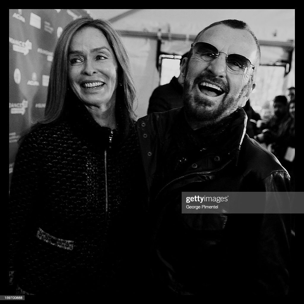 An alternate view of Barbara Bach and Ringo Star attending the 'Emanuel And The Truth About Fishes' Premiere the during the 2013 Sundance Film Festival on January 18, 2013 in Park City, Utah.