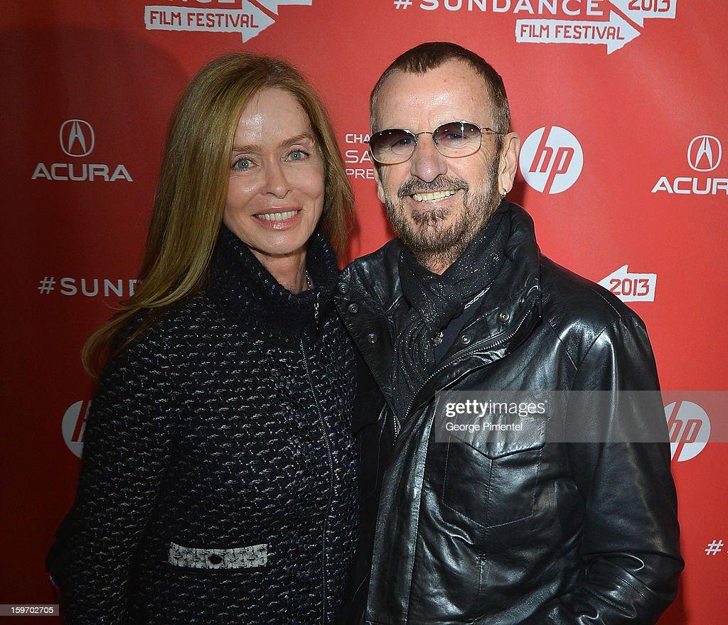 An alternate view of Barbra Bach and Ringo Starr during the 2013 Sundance Film Festival on January 18, 2013 in Park City, Utah.