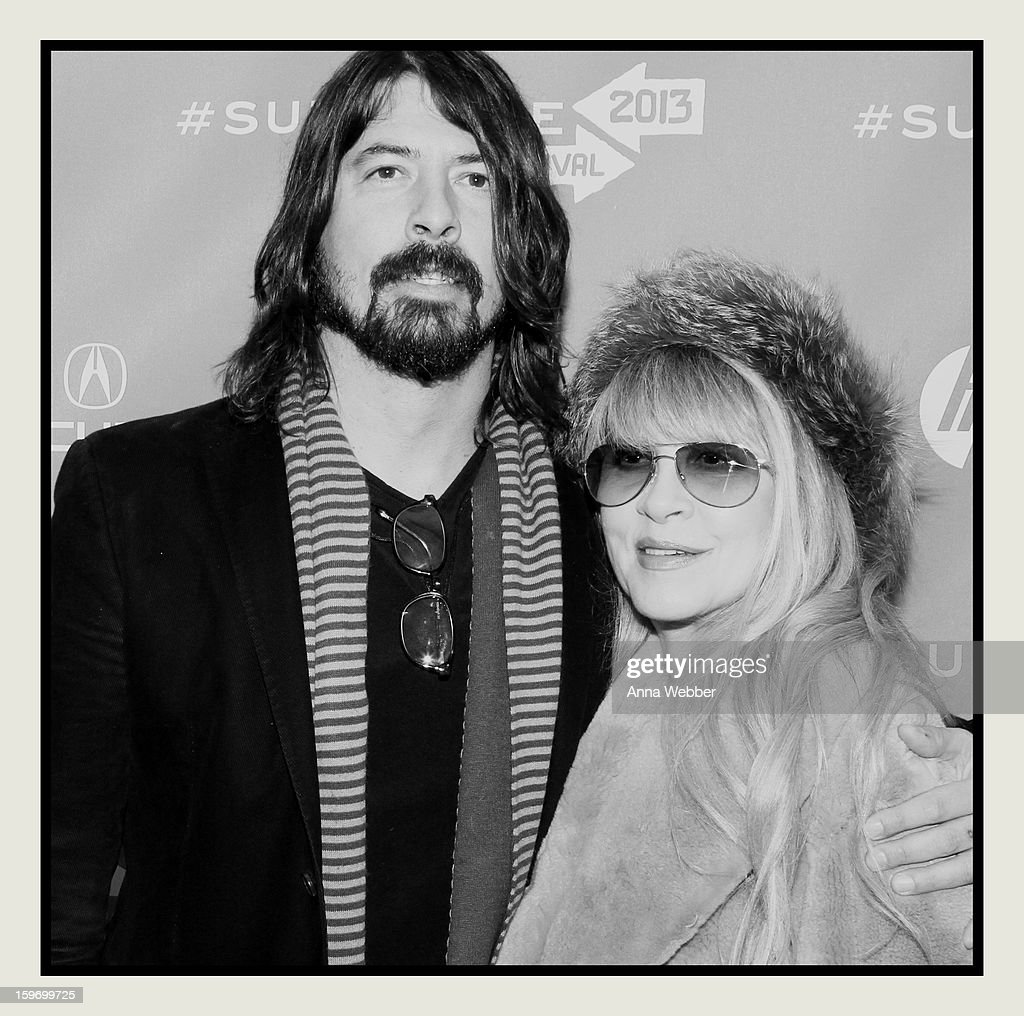 An alternate view of <a gi-track='captionPersonalityLinkClicked' href=/galleries/search?phrase=Dave+Grohl&family=editorial&specificpeople=202539 ng-click='$event.stopPropagation()'>Dave Grohl</a> and <a gi-track='captionPersonalityLinkClicked' href=/galleries/search?phrase=Stevie+Nicks&family=editorial&specificpeople=212751 ng-click='$event.stopPropagation()'>Stevie Nicks</a> attending the 'Sound City' premiere during the 2013 Sundance Film Festival on January 18, 2013 in Park City, Utah.
